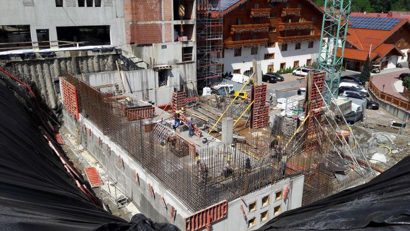 Rozbudowa hotelu META w Szczyrku przy ul. Skośnej dla META INTERNATIONAL Sp. z o.o. Segment C -