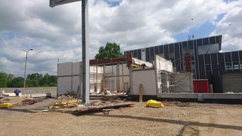 Budowa hali magazynowej PROPSPERPLAST 1 Sp. z o.o. w Żywcu przy ul. Leśnianka -