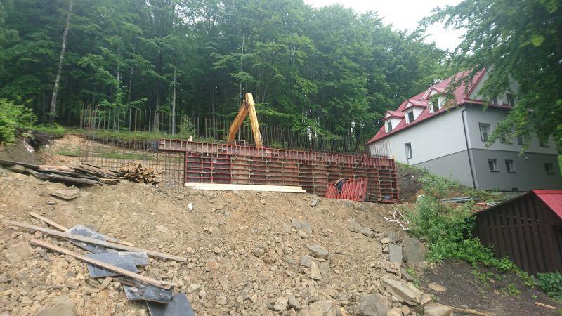 Budowa zbiornika wielofunkcyjnego w Szczyrku dla Towarzystwa Salezjańskiego Inspetorii Krakowskiej pw. Św. Jacka -
