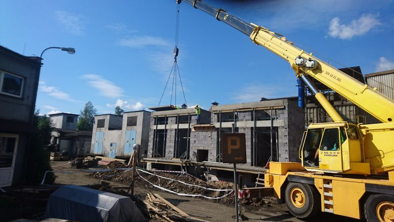 Budowa stacji transformatorowej METALPOL Węgierska Górka Sp. z o.o. -
