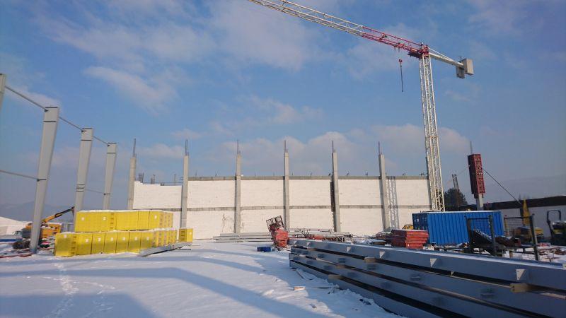 Budowa Zakładu Prosperplast 7 dla Prosperlast Sp. z o.o. w Rybarzowicach -