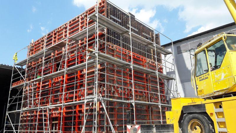 Budowa hali magazynowej z częścią socjalno-biurową oraz budowa łącznika hali magazynowej dla Prosperplast 1 Sp. z o.o. w Żywcu przy ul. Leśnianka -
