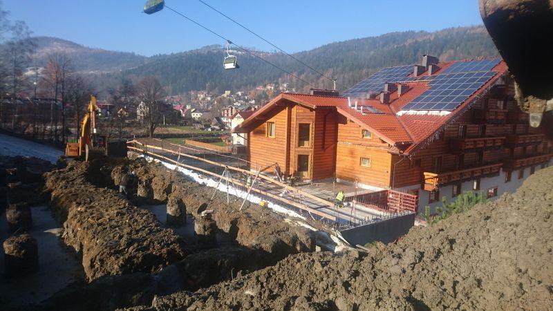 Rozbudowa hotelu META w Szczyrku przy ul. Skośnej dla META INTERNATIONAL Sp. z o.o. Segment A i B -