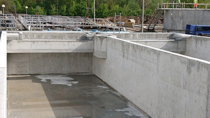 Modernizacja i rozbudowa części osadowej Oczyszczalni ścieków w Kętach dla WTE Wassertechnik (Polska) Sp. z o.o. -