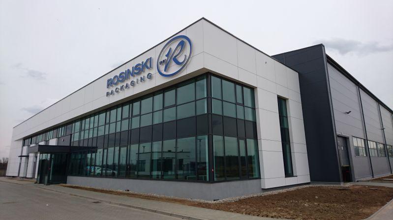 Budowa Zakładu Przetwórstwa Tworzyw Sztucznych ROSINSKI PACKAGING SP. Z O.O. S.K.A. w Nowym Dworze Mazowieckim -