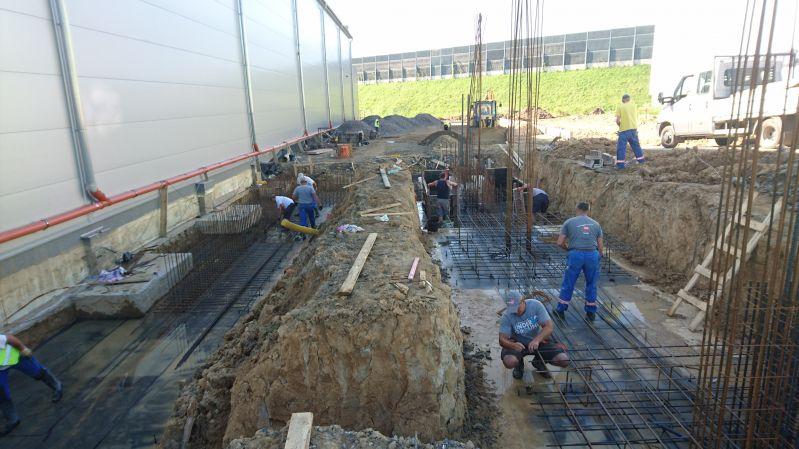 Budowa hali nr 9 dla Zakładu PROSPERPLAST Sp. z o.o. SKA -