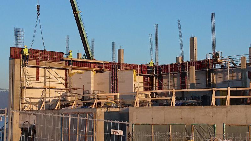Budowa hali operacyjnej wraz z częścią administracyjno-socjalną dla Zakładu PROSPERPLAST Sp. z o.o. SKA w Buczkowicach -